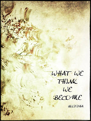What We Think Art Print by Skip Nall