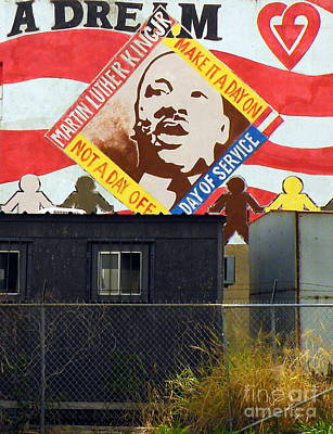 I Have A Dream Wall Art - Photograph - What Would He Say Now by Joe Jake Pratt