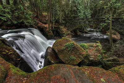 Photograph - Whatcom Falls by Mark Kiver