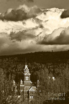 Puget Sound Photograph - Whatcom Museum In Sepia by Paul Conrad