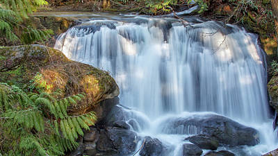 Photograph - Whatcome Falls by Tony Locke
