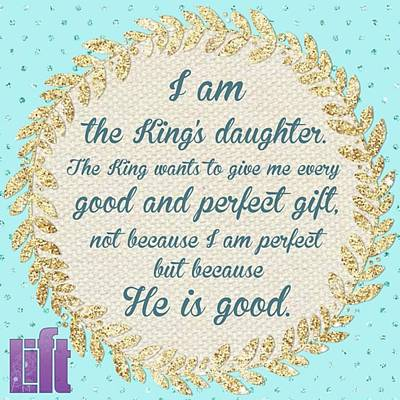 Design Wall Art - Photograph - whatever Is Good And Perfect Is A by LIFT Women's Ministry designs --by Julie Hurttgam