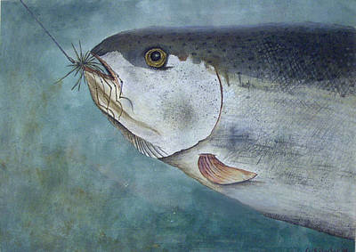 Painting - What's For Dinner by Scott Plaster