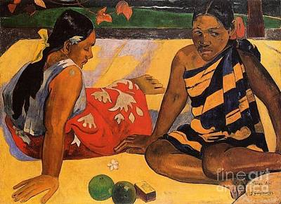 Gauguin Mixed Media - What's New by Gauguin