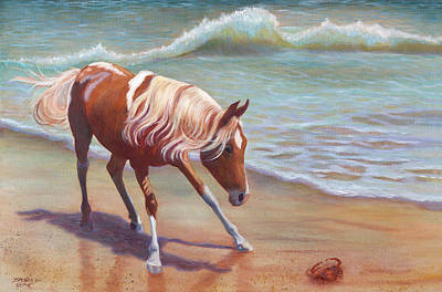 Painting - What's That? by Brenda Griffin