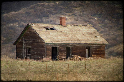 Photograph - What's Your Story Old House? by Teresa Wilson