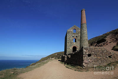 Photograph - Wheal Coates, Towanroath Engine House by Terri Waters
