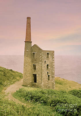 Photograph - Wheal Prosper Mine, Rinsey, Cornwall by Terri Waters