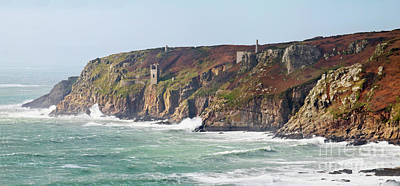 Photograph - Wheal Trewavas Mine Panorama by Terri Waters