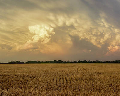 Photograph - Wheat And Storms -01 by Rob Graham