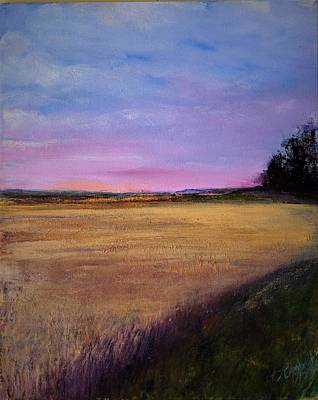 Painting - Wheat Field by Helen Campbell
