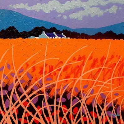 Wheat Field Art Print by John  Nolan