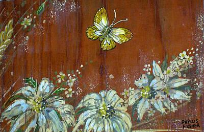 Painting - Wheat 'n' Wildflowers IIi by Phyllis Mae Richardson Fisher