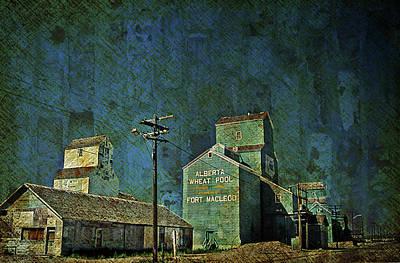 Digital Art - Wheat Pool by Richard Farrington