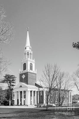Diploma Photograph - Wheaton College Cole Memorial Chapel by University Icons
