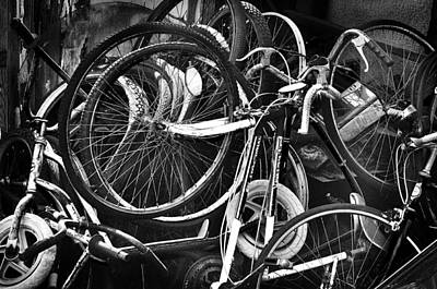 Photograph - Wheel Carnage by Kevin Munro