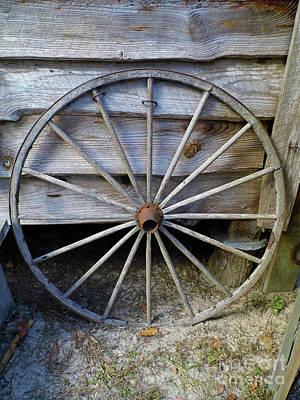 Photograph - Wheel by D Hackett