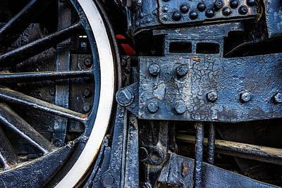 Wheel In Black II Art Print by Jae Mishra