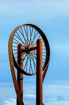 Photograph - Wheel In The Sky by David Millenheft