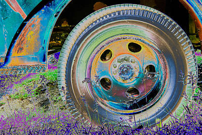 Photograph - Wheel by Julie Niemela