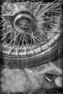 Photograph - Wheel Of An Old Car. by Andrey  Godyaykin