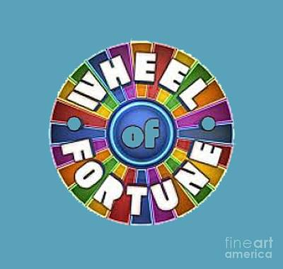 Wheel Of Fortune T-shirt Art Print