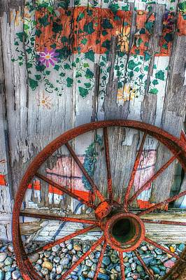 Photograph - Wheel Of Orange by Randy Pollard