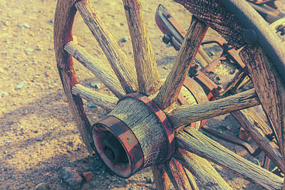 Photograph - Wheel Of The Past by Jonathan Nguyen