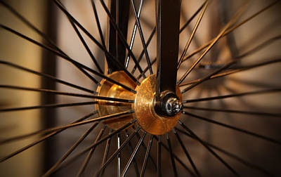 The Champagne Collection - Wheel Spokes  by Douglas Milligan