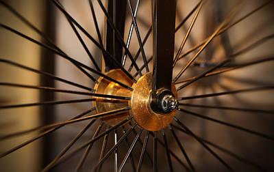 Wheel Spokes  Art Print