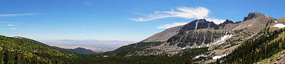 Photograph - Wheeler Peak Panorama Great Basin National Park Nevada by Lawrence S Richardson Jr