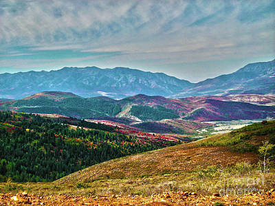 Photograph - Wheeler Peak by Stephen Mitchell