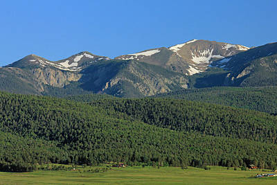 Photograph - 2d14247-wheeler Peak Wide H  by Ed  Cooper Photography