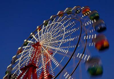 Photograph - Wheeling Good by Nicholas Blackwell