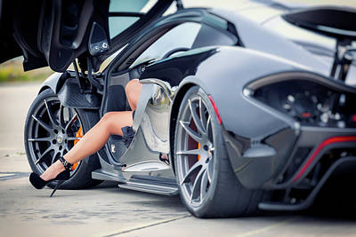 Photograph - #wheels And #heels #print by ItzKirb Photography