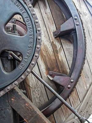 Photograph - Wheels And Sprockets by Tony Grider