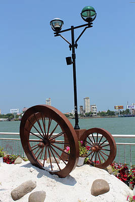 Photograph - Wheels By The Water by Samantha Delory