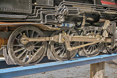 Photograph - Train Wheels by Dennis Dugan
