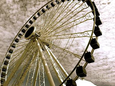 Photograph - Wheels In The Wind by Trish Hale
