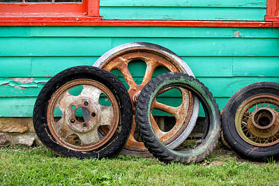 Photograph - Wheels by James Barber