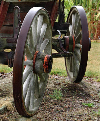 Photograph - Wheels by Kathleen Stephens