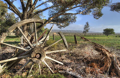 Photograph - Wheels Keep On Turning by Wayne Sherriff