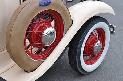 Wheels Art Print by Lynn Bawden