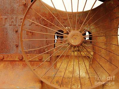 Photograph - Wheels Of Progress #2 by Lexa Harpell