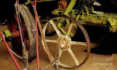 Photograph - Wheels Of Progress #5 by Lexa Harpell