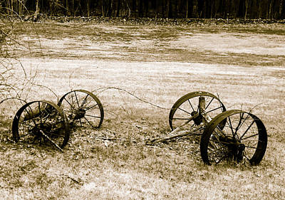 Photograph - Wheels Of The Past by Robert McKay Jones