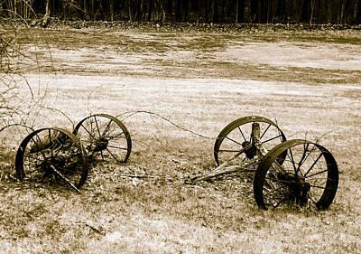Photograph - Wheels Of The Past by Robert McKay Jones