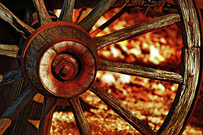 Photograph - Wheels Of Time by Rowana Ray