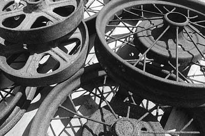 Photograph - Wheels Of Time by Photography by Tiwago