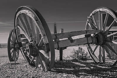 Photograph - Wheels by Pierre Cornay
